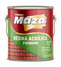 RESINA ACRILICA 3,6L - BRILHANTE - B.AGUA - MAZA