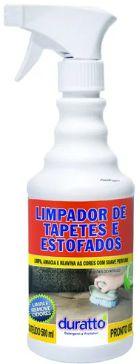 LIMPA TAPETES E ESTOFADOS 0,5L - COM GATILHO - DURATTO