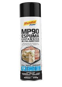 ESPUMA EXPANSIVA - SPRAY 340G - MUNDIAL