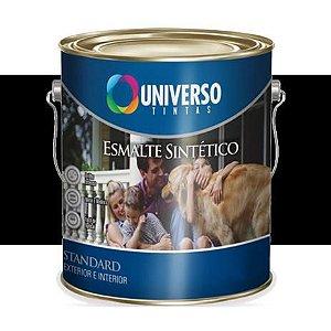 ESMALTE FOSCO 0,225L PRETO - UNIVERSO 1/16