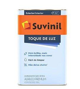 TINTA ACRÍLICA SEMIBRILHO PREMIUM 18L - TOQUE DE LUZ - SUVINIL