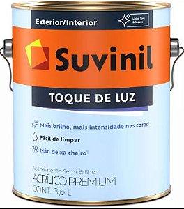 TINTA ACRÍLICA SEMIBRILHO PREMIUM 3,6L - TOQUE DE LUZ - SUVINIL