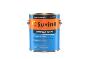 TINTA ACRÍLICA SUPERLAVAVEL 3,6L - LIMPEZA TOTAL - SUVINIL