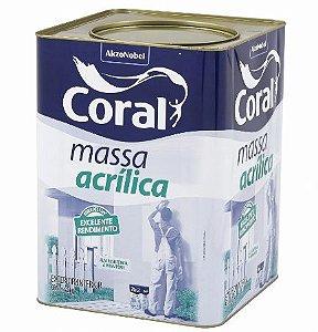 MASSA ACRILICA 25KG - CORAL