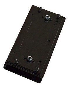 Suporte U Eletroímã M150 Para Vidro Preto