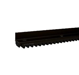 Barra Cremalheira 147cm Para Alumínio Preto