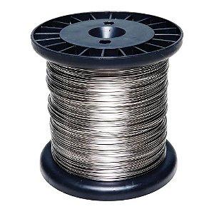 Rolo Fio Inox Cerca Elétrica 0.60mm 900g 250m