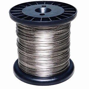Rolo Fio Inox Cerca Elétrica 0.90mm 1kg 150m