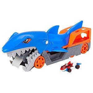 Pista de Percurso - Hot Wheels City - Guincho Tubarão - Mattel
