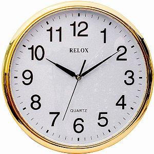 RELÓGIO DE PAREDE RELOX 35cm RX0399