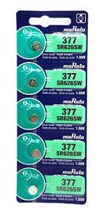 BATERIA MURATA 377 SR626SW 1.55V