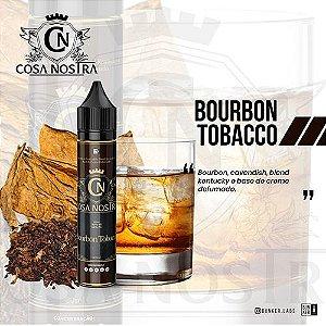 Líquido Cosa Nostra - Bourbon Tobacco