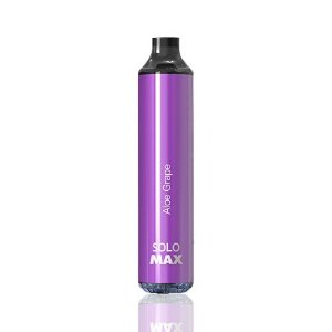 Pod Descartável Vapeman - 4000 Puffs - Solo Max - Aloe Grape