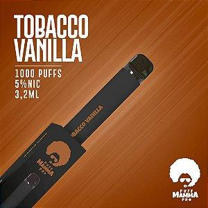 Pod descartável Puff Mamma - Pro - 1000 Puffs - Tobacco Vanilla