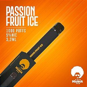 Pod descartável Puff Mamma - Pro - 1000 Puffs - Passion Fruit Ice