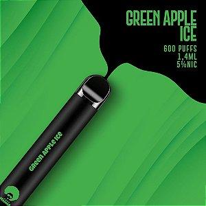 Pod descartável Puff Mamma - Fix - 600 Puffs - Green Apple Ice