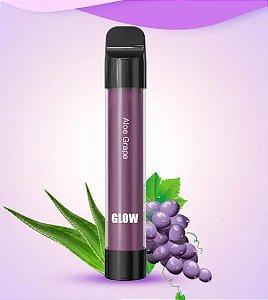 Pod Descartável 800 Puffs - Glow- Vapeman - Aloe Grape