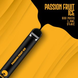 Pod descartável Puff Mamma - Fix - 600 Puffs - Passion Fruit Ice