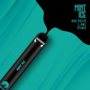 Pod descartável Puff Mamma - Fix - 600 Puffs - Mint Ice