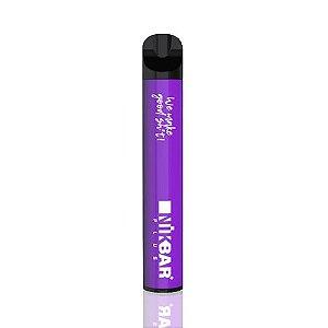 Pod descartável NikBar - 1500 Puffs - Grape Ice