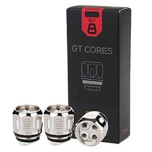 Resistência GT Cores - GT8 - Vaporesso (Revenger, Revenger X)