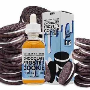 Liquido TOP CLASS E-juice - Chocolate Frosted Cookie