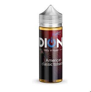 Líquido Dion - 120ml - American Classic Tobacco