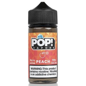 Líquido POP! Vapors - Iced Peach