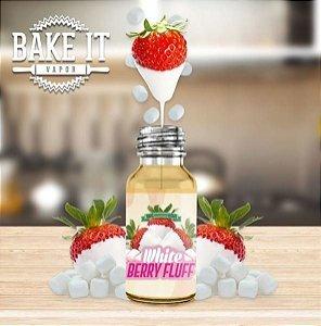 Líquido Bake it - White Berry Fluff