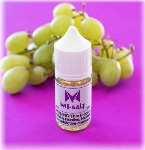 Líquido Salt Nicotine - MI-SALT - Smoking Vapor -  Grape