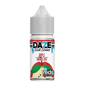 Líquido Salt nicotine 7 Daze Reds Apple E-juice - Apple Original Iced
