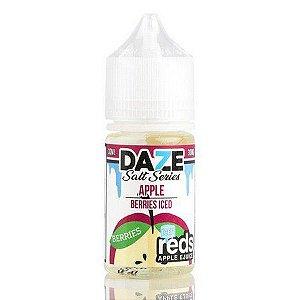 Líquido 7 Daze Reds Apple E-juice Salt  - Apple Berries Iced