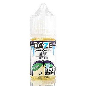 Líquido Salt nicotine 7 Daze Reds Apple E-juice - Apple Grape Iced