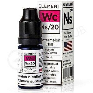 Líquido Element Salt Nicotine - Watermelon Chill
