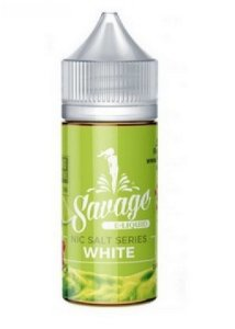 Líquido Salt nicotine Savage - White