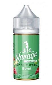 Líquido Salt nicotine Savage - Bond