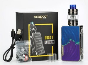 kit Drag 2 Platinum 177W TC Kit - with UFORCE T2 - VOOPOO