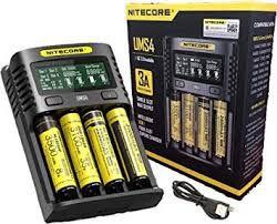 Carregador Inteligente de Baterias UMS4 - Nitecore