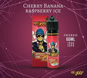 Líquido Mr.Yoop - Cherry Banana Raspberry Ice