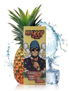 Líquido Yoop Vapor Salt - Mr. Yoop - Pineapple Ice