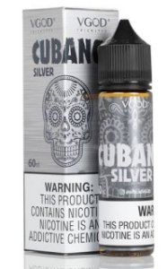 Líquido Salt Nicotine VGOD - Cubano Silver