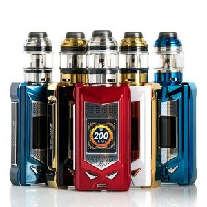 Kit MFeng UX 200w com tank MFENG UX- SnowWolf