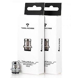 RESISTÊNCIA / COIL TS-XX e TS-S P/ Tank TALLICA mini (XT220 / XT MINI / FALCON KIT / PUNK 85W) - TESLA
