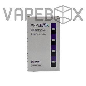 Pod refiláveis JUUL - Vapebox