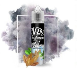 Líquido V8 E-Juice - Tobacco Mint Ice - Cobra