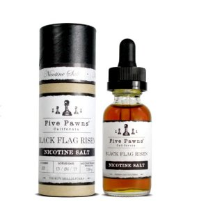 Líquido Salt Nicotine - Five Pawns - Black Flag Risen