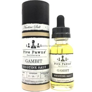 Líquido Salt Nicotine - Five Pawns - Gambit