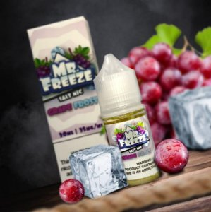 Líquido Mr. Freeze Salt - Grape Frost