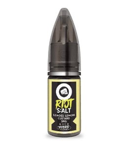 Líquido Riot Nic Salt - Loaded Lemon Custard