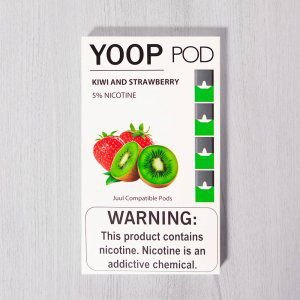 Yoop Pods Kiwi And Strawberry - Compatíveis com JUUL - YOOP